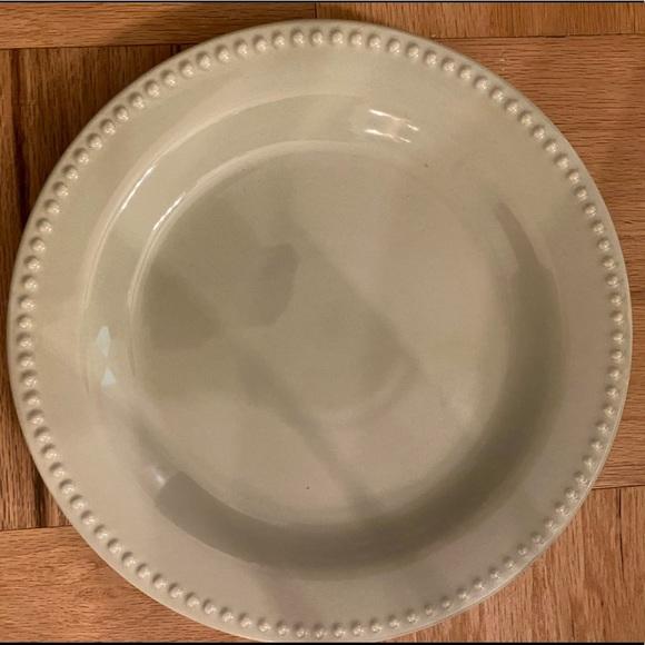 Pottery Barn Dining New 4 Pottery Barn Emma Dinner Plate Celadon Green Poshmark
